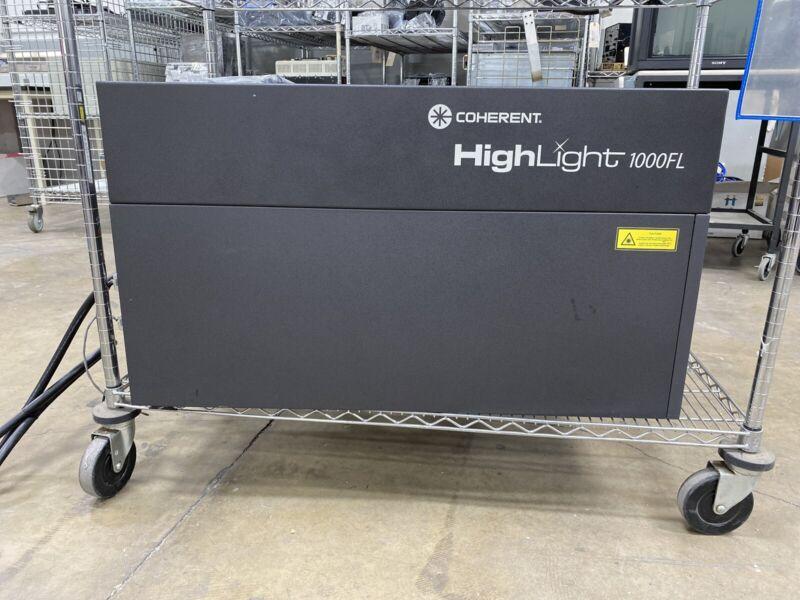 Coherent HighLight 1000FL Fiber Laser Welder/Cutter w/ Precitec LightCutter Head