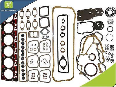 New Cummins 6B 6BT 6BTA  5.9L 12v Full Gasket Set (Top & Bottom)