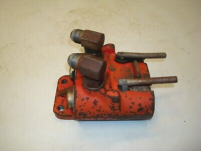 1979 International Ih 1486 Tractor Hydraulic Remote Coupler