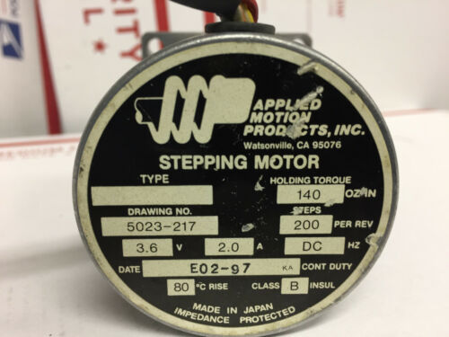 Applied Motion Products Stepping Motor 5023-217
