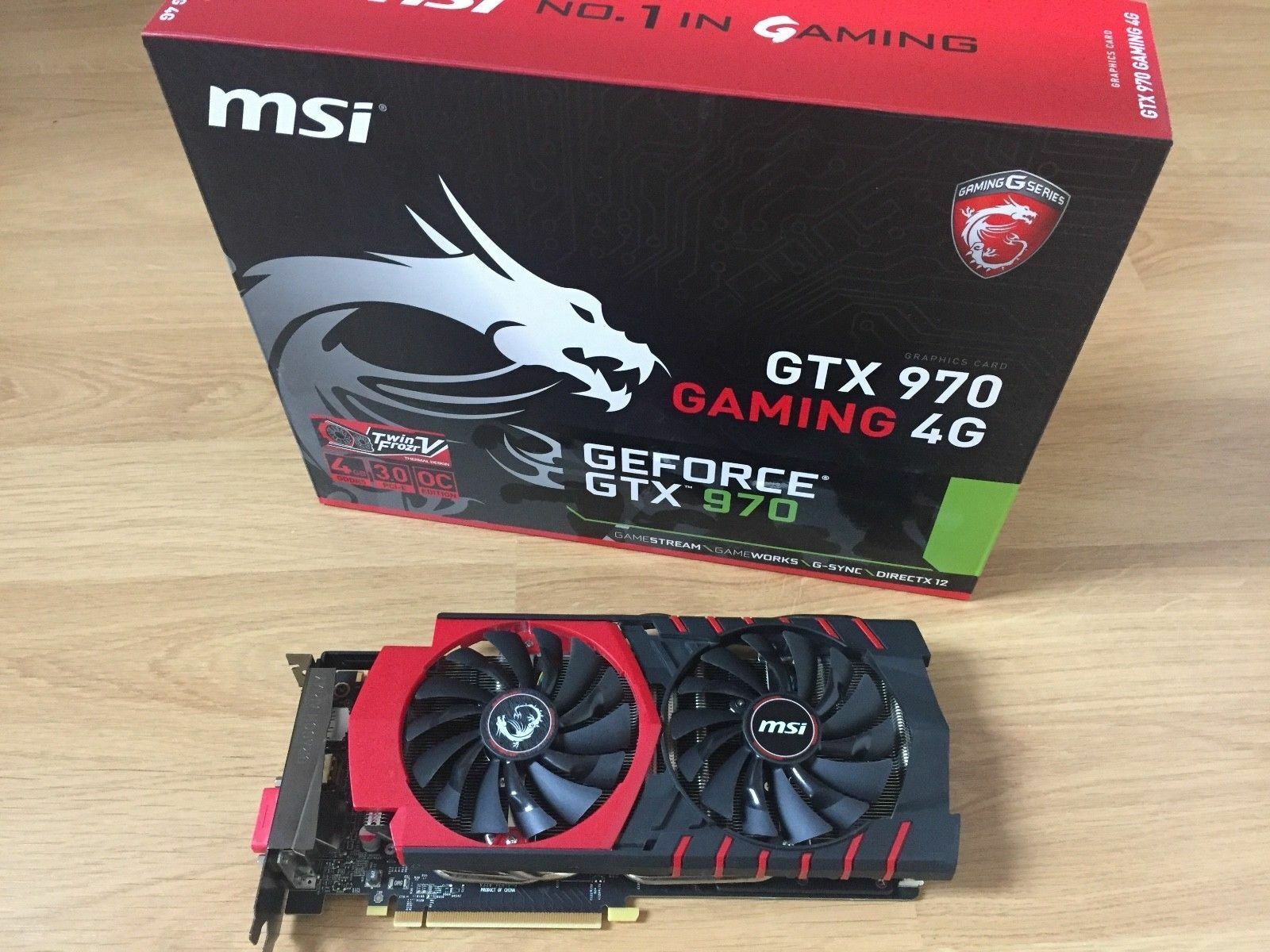 MSI NVIDIA GeForce GTX 970 GAMING 4G (4096 MB) Grafikkarte Top ✅ Händler ✅
