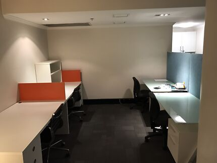 8 Desks in Town Hall office share - gym, pool, showers, spa, sauna