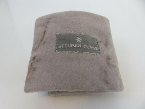 Large Steuben Cloth FLAP Storage Pouch Bag 9 x 9