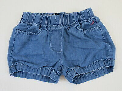 Nautica Girl Shorts Size 2T Blue Elastic Waist