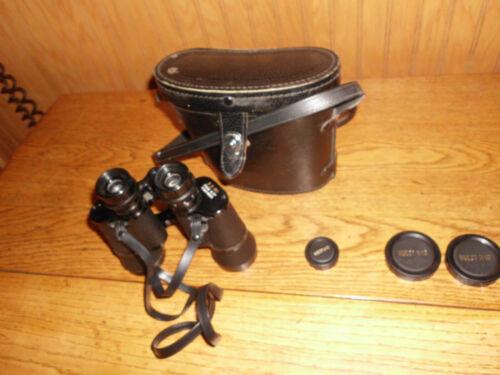 Wuest Binoculars - H-19  8X40 - Metal, Coated optics W/Original Case