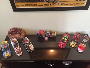 1/24 scale NASCAR and dragsters.