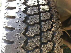 2 fire stone truck tires