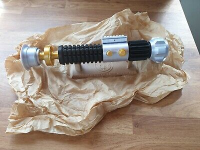 Star Wars replica 3D Printed Obi Wan  Kenobi Lightsaber Prop WITH DISPLAY STAND