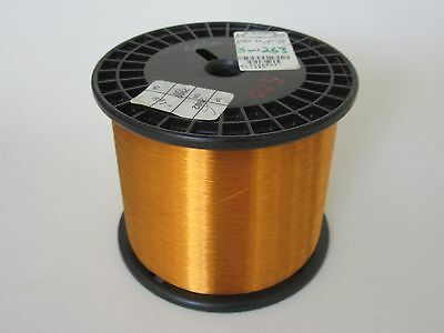 40 Awg  5.20 Lbs. Essex Thermalex Heavy Enamel Coated Copper Magnet Wire