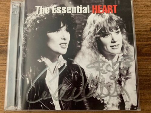 Ann + Nancy Wilson Autographed CD The Essential Heart MINT Signed