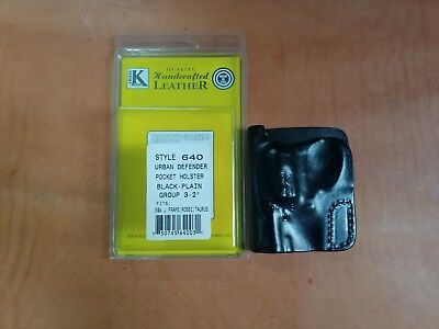 Triple K #640 S&W J FRAME & SMALL REVOLVER POCKET HOLSTER NEW IN BOX