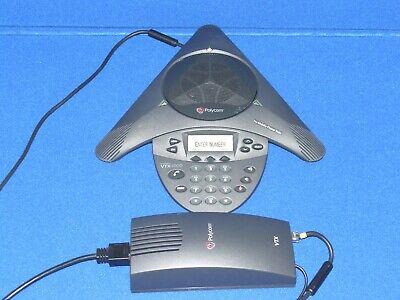 Polycom Soundstation Vtx1000 Analog Conference Speaker Phone Pots 2201-07142-601