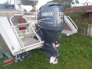 2007 yamaha four stroke outboard boat motor 115 hp Dongara Irwin Area Preview