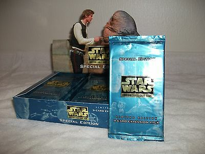 Star Wars CCG Factory Sealed Booster Pack Special Edition Limited
