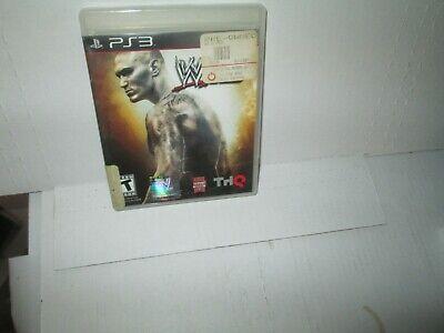 WWE '12 Wresting PLAYSTATION 3 Game PS3 WWF No Manual vg  segunda mano  Embacar hacia Argentina
