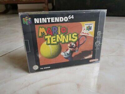 Nintendo 64 MARIO TENNIS PAL NINTENDO 64 N64 100% ORIGINAL Mint