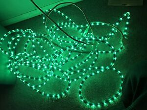 Various Christmas lights and decorations for sale