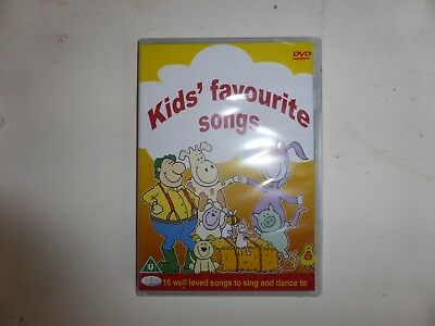 Kids Favourite Songs (well loved songs to sing and dance to) [DVD] NEW SEALED