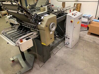 Stahl B20 Pile Feed Paper Folder With 8 Page Unit