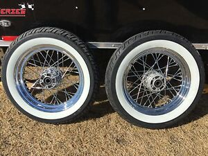 "2009 Softail stock 16"" wheels and tires"