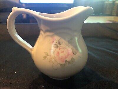 Pfaltzgraff TEA ROSE Creamer Pitcher Made In USA Tea Rose Creamer
