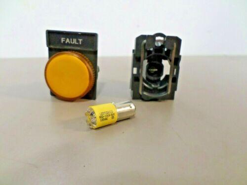 FAULT Amber Panel Indicator Lamp ZVB-6 Module with Bulb BSD-1319-6UY