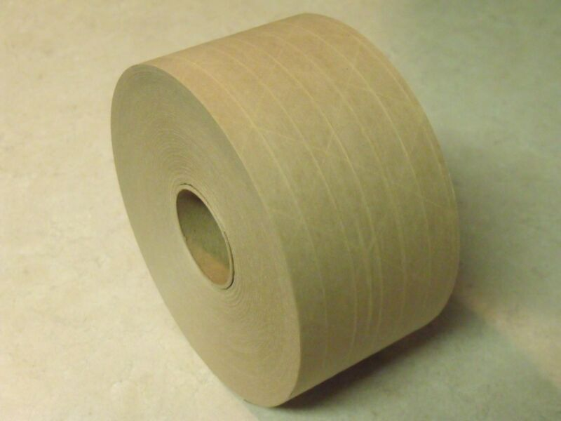 500 Yards - 4 Roll Pack - REINFORCED KRAFT PAPER TAPE