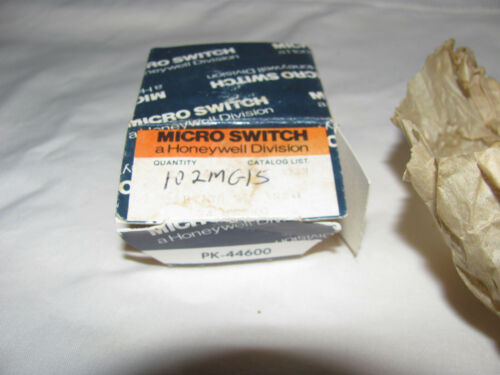 Honeywell 102MG15 Magnetic Sensor with Instructions New in Box Old Stock