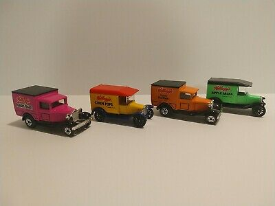 Kelloggs Cereal Vintage Ford Model A & T delivery Trucks