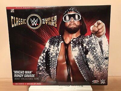 WWE Jakks Classic Superstar Deluxe Dress Up Costume Macho Man Randy Savage New](Randy Savage Costume)