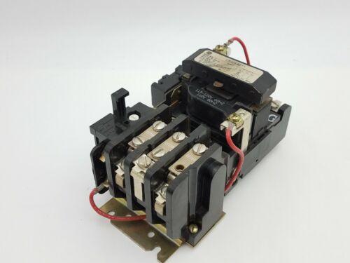 General Electric GE CR306B0 Motor Starter 18A 600V NEMA 0 120V Coil