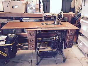 Antique Singer Treadle Sewing Machine North Perth Vincent Area Preview
