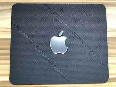 APPLE Leather effect  MOUSEMAT MOUSE MAT PAD compatible with Mac iMac MacBook