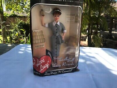 1997 Mattel  I Love Lucy   (Lucille Ball) Does a TV Commercial Vitameatavegamin