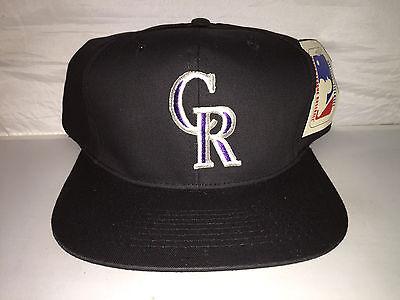 Snapback Hut Mütze 90er Jahre MLB Baseball (Colorado Rockies Hut)