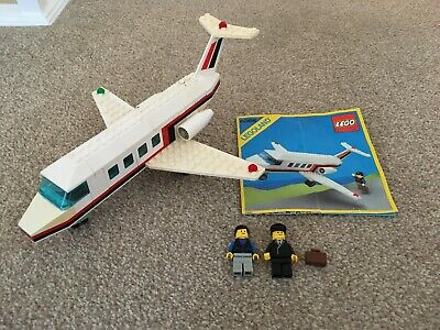 Lego Town Vintage Jet Airliner 6368, Complete with Original Instructions
