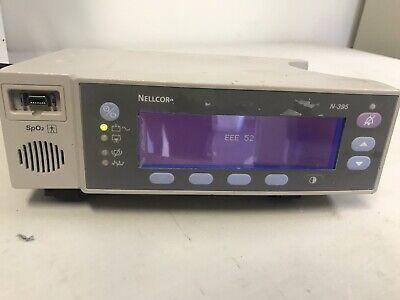 Nellcor Oximax N-395 Pulse Oximeter Monitor Spo2