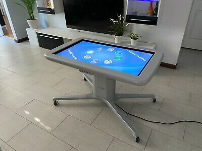 Smart Table 442i 42 40 Point Touch Screen Windows 7 Pro Cpu Core I3 4gb Ram