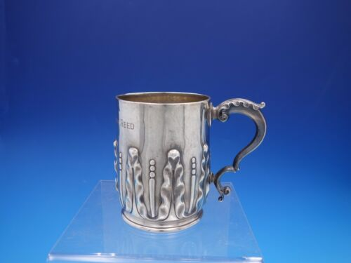 Victorian English Sterling Silver Acanthus Leaf Child