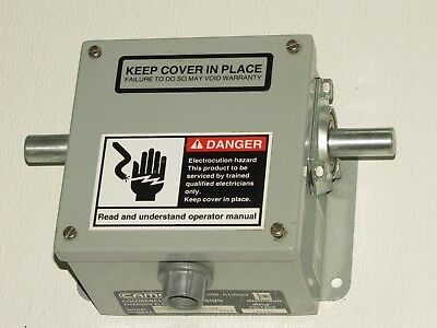 NEW CAMCO ELECTRONIC ROTARY LIMIT SWITCH No. CT-6004-10-ADO-04 120VAC