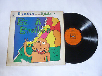 Big Brother And The Holding Co    Be A   1971 Cbs Uk Rock Vinyl Lp   Poor Sleeve