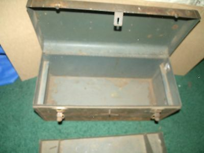 vintage craftsman tool box  20 inch restorable