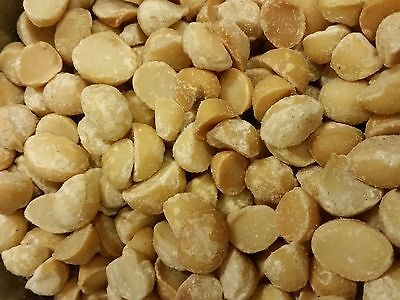 Dry Roasted Macadamia Nuts - Macadamia Nuts, Dry Roasted and Salted, Style 4 (Halves) 5 Pound Bag