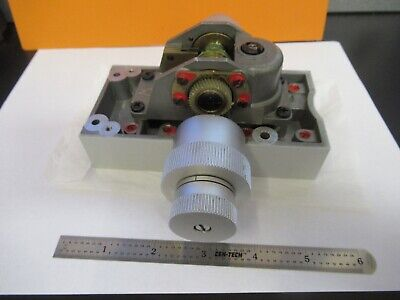 Leitz Orthoplan Stage Knobs Assembly Microscope Part As Pictured 11-b-101