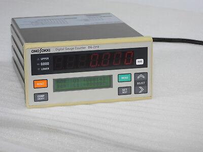 Ono Sokki Dg-2310 Digital Gauge Counter