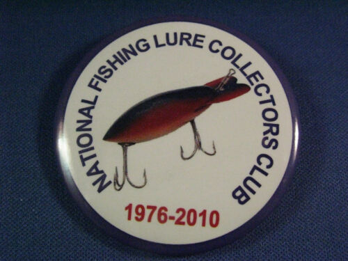 NFLCC - NATIONAL FISHING LURE COLLECTORS  BADGE  2010