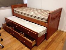 Trundle bed with mattress Ballina Ballina Area Preview