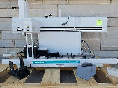 Beckman Coulter Biomek 2000 Liquid Handling System Automation Workstation