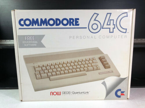 Commodore 64C Personal Computer Box Only