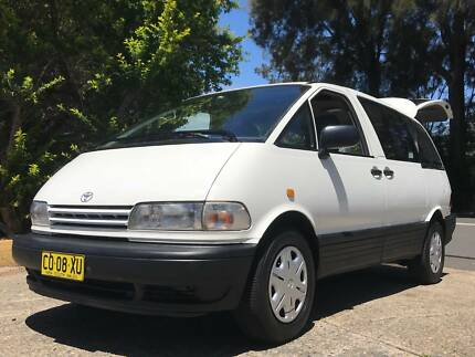 Toyota Tarago 2 person automatic Camper Botany Botany Bay Area Preview